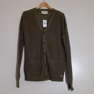 RALPH LAUREN DENIM&SUPPLY LINEN BLEND CARDIGAN  m""